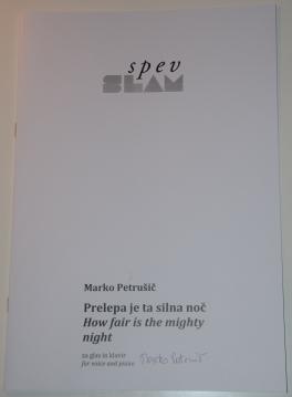 Prelepa je ta silna noč – Marko Petrušič
